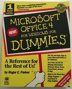Microsoft Office 4 for Windows for Dummies (For Dummies (Computer/Tech))