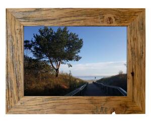 Legno Cornici Vintage Rustico Squallido Foto Poster Natura Alt-Holz Campagna