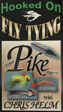 Perfect Pike Patterns with Chris Helm - Hooked on Fly Tying(Vhs 2000)Tested-Rare