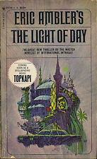 Eric Ambler THE LIGHT OF DAY Movie Tie-In - First Printing