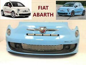 2012 2013 2014 2015 2016 2017 2018 2019 fiat 500 ABARTH front bumper (blue)