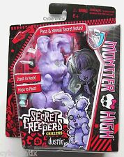 Monster High DUSTIN Secret Creepers Toy Bunny Abby Bominable's Pet NEW Figure