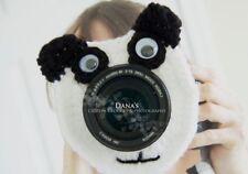 Panda Bear Camera Lens Buddy, Photography, Children, Kids, Character