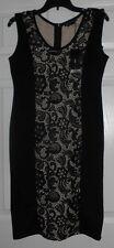 BCBG Max Azria Black Parfait Dress Size Medium NWT $180