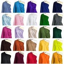 Polar Fleece Fabric Premium Quality Plain Anti Pill Soft Warm Winter Material