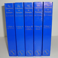 Catechism in Example Rev. D Chisholm 1-5 Volumes UNREAD