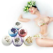 Dried Flower Essential Oil Bubble Bath Bombs Fizzies Relief Effervescence Balls