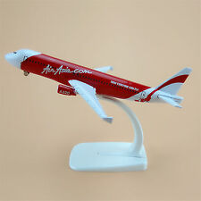 Air Asia Airlines Airbus 320 A320 Aircraft 16cm Airplane Model Plane Red Gift