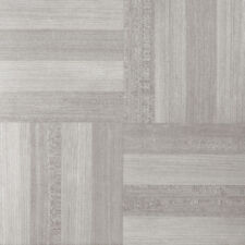 "Ash Gray Wood Woodtone Self-Stick Adhesive Vinyl Floor Tiles - 80 Pcs 12"" x 12"""