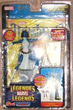 ToyBiz Marvel Legends Sentinel Series Mystique with Comic Label Error MOSC