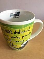 New History & Heraldry Fine Porcelain Occupation Mug - Hot Shot Footballer