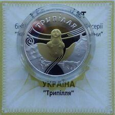 TRYPOLEAN CULTURE Gold + Silver Ukraine 20 Hryvnia Bimetal Coin 2000 KM#127 Rare