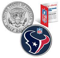 HOUSTON TEXANS  NFL JFK Kennedy Half Dollar US Coin  *Officially Licensed*