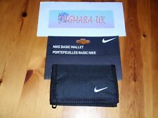 *NEW* Nike Black Genuine Basic Trifold Wallet