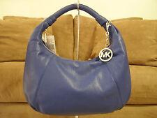 Michael Kors Leather Hobo (Sapphire Blue) - NWT