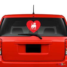 Love American Bulldog Windshield Sticker Vinyl Auto Window bully