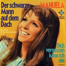 """7"""" MANUELA Der schwarze Mann auf dem Dach CV CLODAGH RODGERS CONNIE FRANCIS 1971"""
