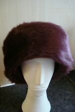 4 x Luxury Ladies Top Quality Faux Fur Brim Style hats - new with tags