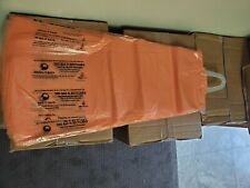 Newspaper bags, 2000ct box, Orange tint, 200 per sleeve