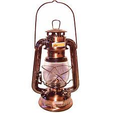 "WINDLICHT ""Antik"" STURMLAMPE Kupferoptik dekorative Öllampe Stalllaterne   ☆NEU☆"
