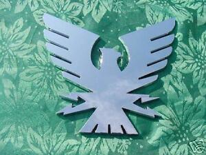 "FORMULA THUNDERBIRD BOAT EMBLEM LOGO BIRD CHROME 6 x 6-1/2"" FACTORY GENUINE"