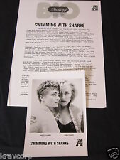 SWIMMING WITH SHARKS 'S/T' 1988 PRESS KIT--PHOTO