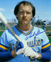 1982 BREWERS Charlie Moore signed photo 8x10 AUTO Autographed Milwaukee