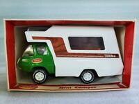 Vintage Tonka Mini Camper Truck Pressed Steel Toy 1261 Green Model Boxed 1970's