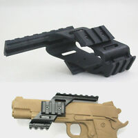 Universal  Picatinny red dot Scope/laser Sight/  Polymer Base Mount for glock