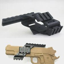 Universal  Picatinny red dot Scope/laser Sight/  Polymer Base Mount for glock