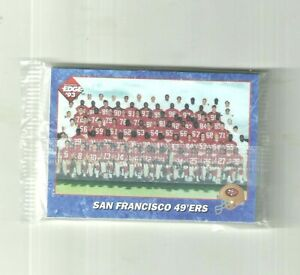 1993 Collector's Edge SAN FRANCISCO 49ERS factory sealed team set w/ Jerry Rice