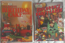 2 x Children's Birthday Party Cake Books