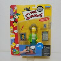 Playmates The Simpsons EDNA KRABAPPEL Figure World of Springfield Series 7 WOS