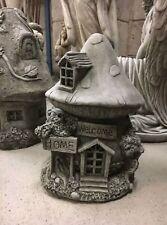 Feenhaus Fairyhouse Wichtelhaus gartendeko stein gross Beton Wichtel Steingarten