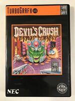 Devil's Crush - Turbo Grafx 16 - Replacement Case - No Game