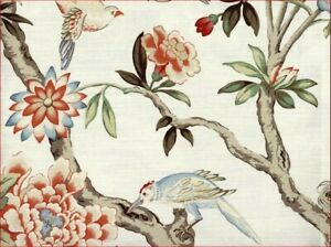 Waverly Mudan Floral Birds king Quilt Shams set