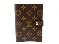 Authentic Louis Vuitton Monogram Agenda PM Notebook Cover R20005 Browns