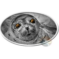 BABY SEAL WITH TIGER-GEM-EYES ULTRA HIGH RELIEF SILVER COIN 2$ NIUE 2018