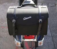 Vespa Classic Soft Top Box Luggage Storage Bag Black PX GTS LX ET