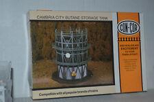 Con-Cor 688 Cambria City Butane Storage Tank N Scale  Kit