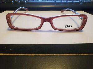 NEW Dolce & Gabbana Eyeglasses D&G 1227 1980 Marc On Pink, Size 51-16-135
