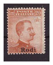 ISOLE EGEO  RODI  1918 -  Centesimi  20   NUOVO **