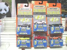 Matchbox 1997 Premiere World Class #17 Set of 6 Cars Mint in Mint Boxes+BubblPks
