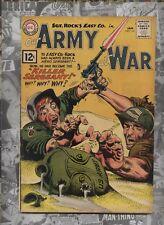 Our Army at War 114 Dc silver age comic Sgt. Rock Kubert cv Heath Santa Commando