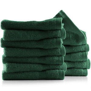 12 Pack washcloth Towel Set 100% Cotton Soft Luxury Wash Cloths for Face & Body