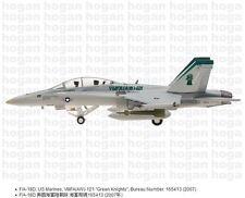 """Hogan Wings 5613, F/A-18D, US Marines, VMFA(AW)-121 """"Green Knights"""", 2007, 1:200"""