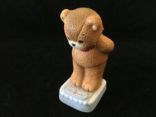 Lucy & Me Weighing In Diet Bear Lucy Rigg Enesco 1984