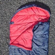 Mummy Sleeping Bag (40 degree) 86x29 Blue/Red