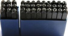 Letter & Number 36pc Stamp Punch Set Hardened Steal 3mm