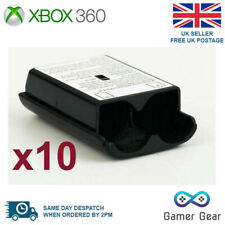 Xbox 360 Controller Battery Cover Back Shell - 10 Pack Black
